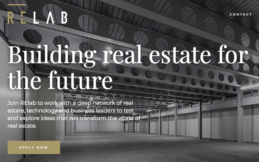 Goldacre RElab accelerator programme seeks real estate focused startups